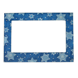 Shields of David Magnetic Photo Frame