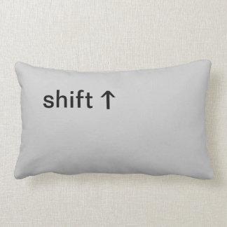 Shift Button Pillows