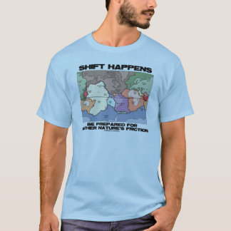 Shift Happens Be Prepared For Mother Nature's T-Shirt