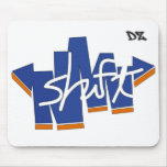shift. Mousepad by DZeines