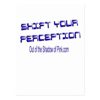 Shift Your Perception Postcard