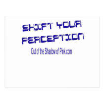 Shift Your Perception Postcard
