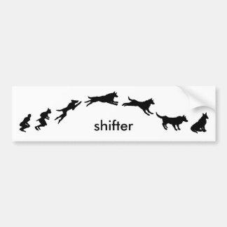 shifter bumper sticker
