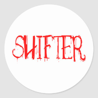 Shifter Round Stickers