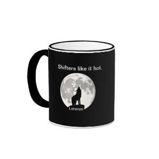 Shifters like it hot - LORENZO CHURCH Ringer Coffee Mug