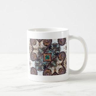 Shifting Gears Geometric Coffee Mug