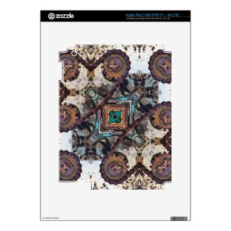 Shifting Gears Geometric Skins For iPad 3