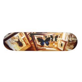 """Shifting Light"" Bug Watercolor Skateboard"