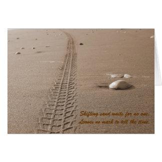 Shifting Sand Card
