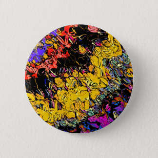 Shifting Shapes And Colors Pinback Button