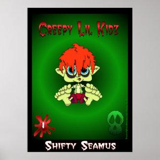 Shifty Seamus Print