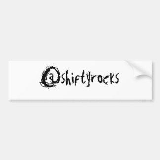 @shiftyrocks Sticker Car Bumper Sticker