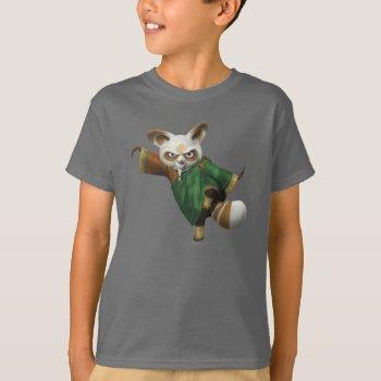 Shifu Ready T-shirt by kungfupanda at Zazzle