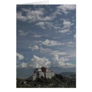 Shigatse Dzong Greeting Card