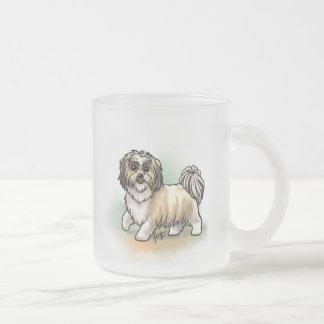 Shih Tsu Frosted Mug