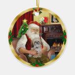 Shih Tzu (#17) de Santa Ornamento De Reyes Magos
