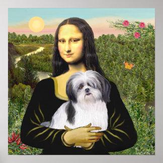 Shih Tzu (A1) - Mona Lisa Poster