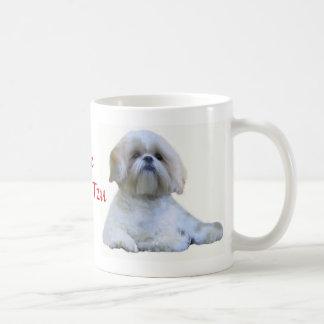 Shih Tzu adoro la taza