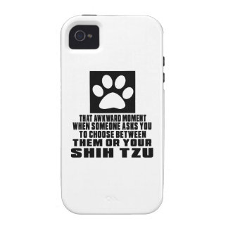 SHIH TZU AWKWARD DESIGNS CASE FOR THE iPhone 4