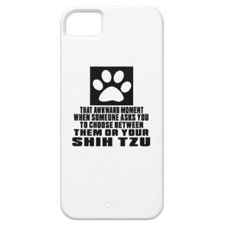 SHIH TZU AWKWARD DESIGNS iPhone 5 COVERS