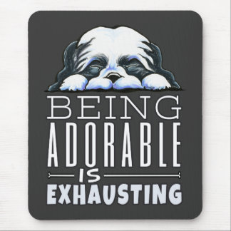 Shih Tzu Being Adorable Mouse Pad