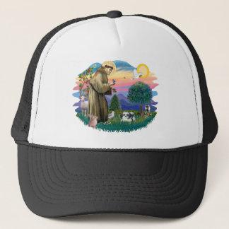Shih Tzu (black and white) Trucker Hat