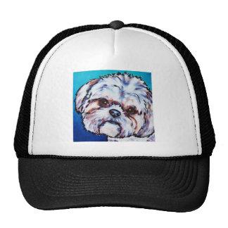 Shih Tzu blue Trucker Hat