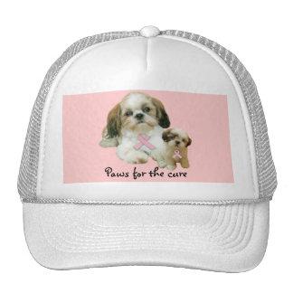 Shih Tzu Breast Cancer Hat