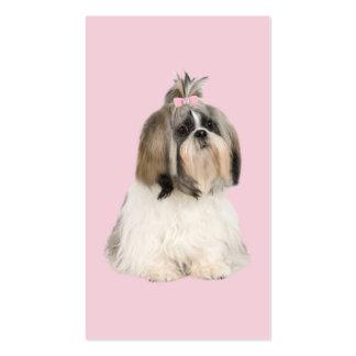 Shih Tzu Breeder Business Card