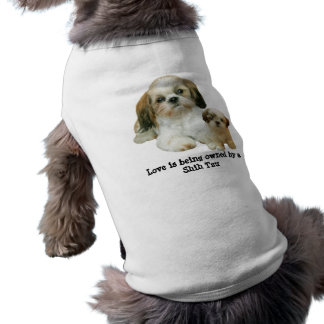 Shih Tzu Buddies Pet Clothing