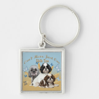 Shih Tzu Can't Have Just One Key Chain