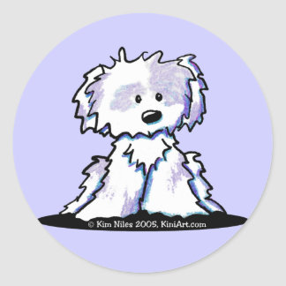 Shih Tzu Cartoon Sticker