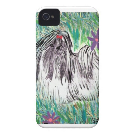 Shih Tzu Case-Mate iPhone 4 Protectores