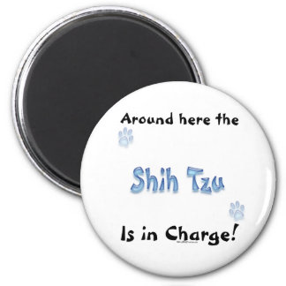 Shih Tzu Charge - Magnet