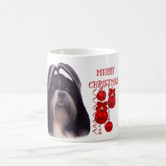 Shih Tzu Christmas Coffe Mug