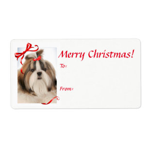 Shih tzu christmas gifts