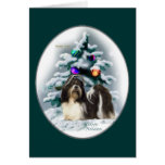 Shih Tzu Christmas Gifts Cards