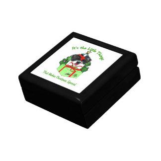 Shih Tzu Christmas Keepsake Box