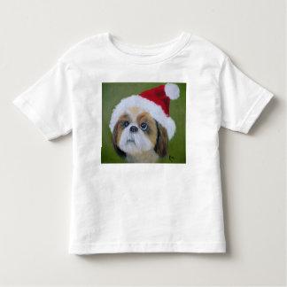 Shih Tzu Christmas Kid's T-Shirt