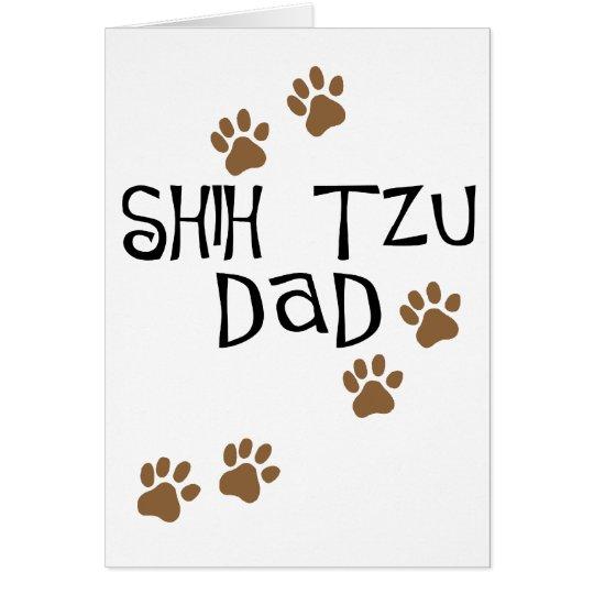 Shih Tzu Dad Card