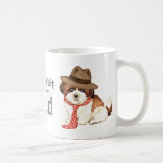 Shih Tzu Dad Classic White Coffee Mug