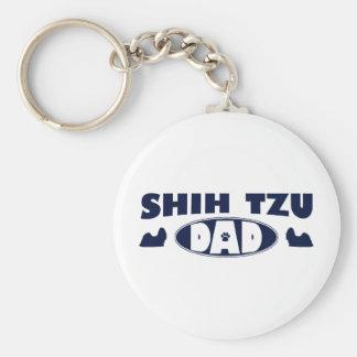 Shih Tzu Dad Keychain