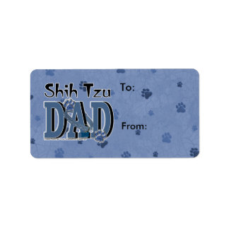 Shih Tzu DAD Label