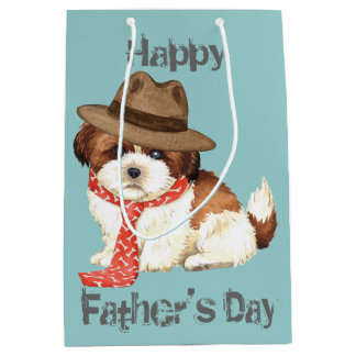 Shih Tzu Dad Medium Gift Bag