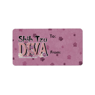 Shih Tzu DIVA Label