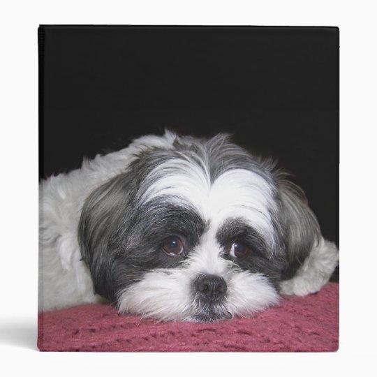 Shih Tzu Dog Binder