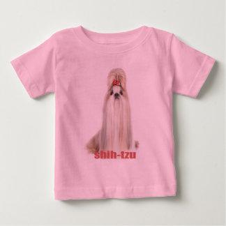 shih-tzu dog breeds シーズー - シーズー犬の品種 baby T-Shirt