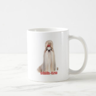 shih-tzu dog breeds シーズー - シーズー犬の品種 coffee mug