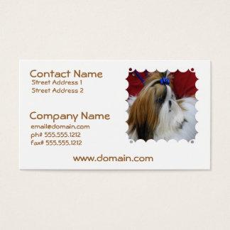 Shih Tzu Dog Business Cards