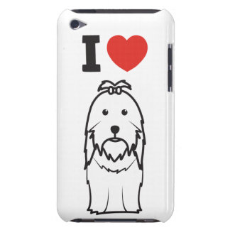 Shih Tzu Dog Cartoon iPod Touch Case
